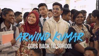 Arwind Kumar Goes Back To School