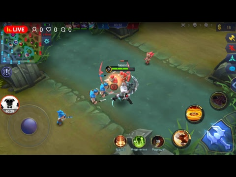 Mobile Legend Live stream gaming #3