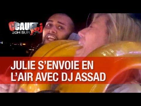 Julie senvoie en lair avec DJ Assad ! - CCauet sur NRJ