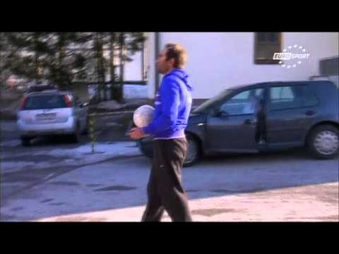 Tessa Worley Hotel Training Schladming 2012