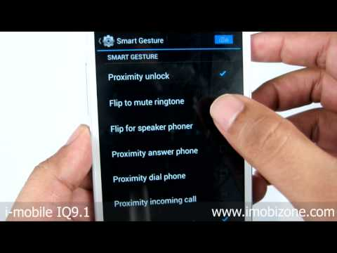 Preview i-mobile IQ9.1 ตัวเครื่อง สาธิต Smart Gesture