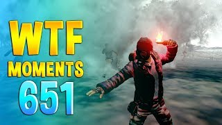 PUBG WTF Funny Daily Moments Highlights Ep 651