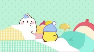 A night with Molang and Piu Piu | Molang Special - Cartoons for kids