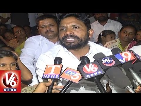 Telangana SC ST Commission Chairman Errolla Srinivas Slams Jangaon Dist Officials | V6 News