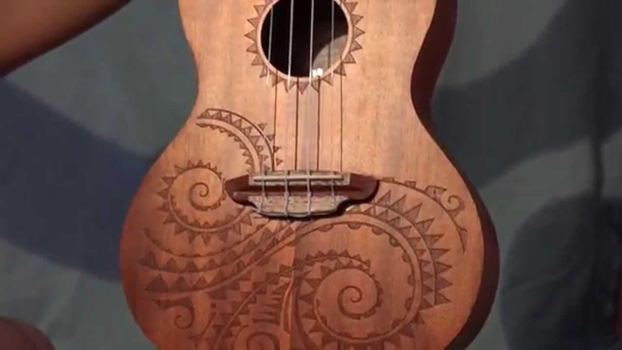 Concert Guitar Luna Guitars Tattoo Concert