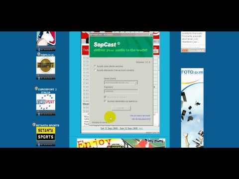 SopCast: come vedere gli eventi sportivi su internet