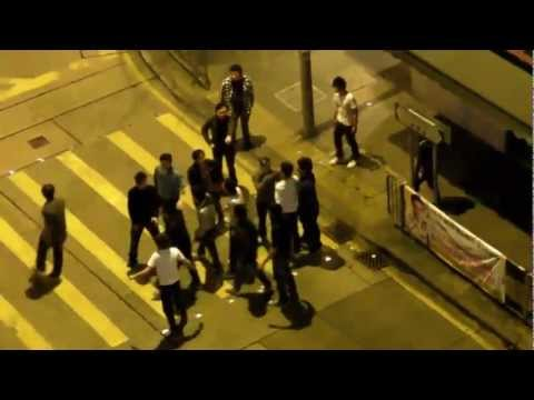 North Point Gang Fight video