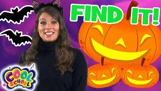 Find the Jack-O-Lanterns! 🎃Sleepy Hollow Story with Ms. Booksy 🎃Find It Games 🎃Cartoons for Kids
