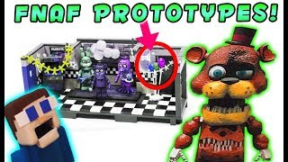 FnaF McFarlane Toys TOP SECRET Prototypes REVEALED! Freddy and the Show Stage & The office