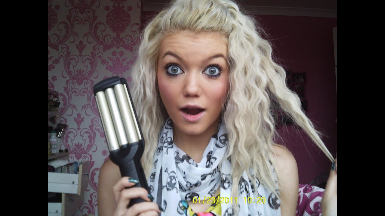 Review And Tutorial Babyliss Wave Envy YouTube