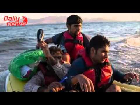 [Daily Hot News] Europe's migrant crisis at land and sea