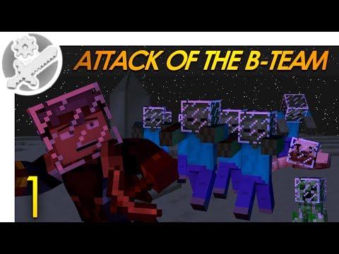 Minecraft: Attack Of The B-Team! Minecraft Modded Survival (1)