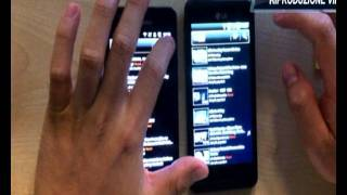 LG Optimus 3D vs Samsung Galaxy S2_ video Confronto (riprese Iphone 4)