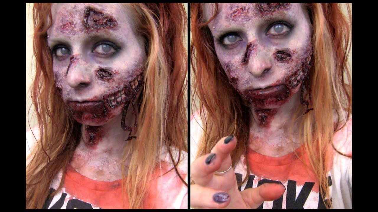 Halloween maquillage zombie fran ais youtube - Ou trouver rangement maquillage ...