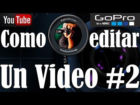 Como editar dos vídeo mas audio en GoPro Studio 2.0 en ESPAÑOL   @Pablofurius