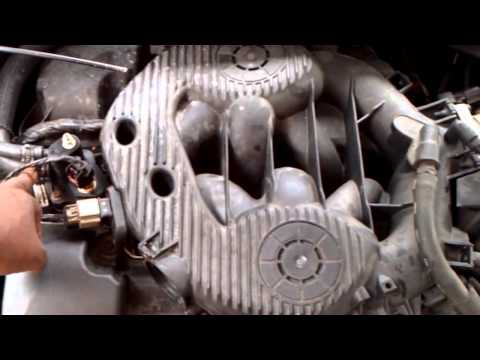 Removal and Installation of a Coolant Bleeder Valve on a Dodge Stratus