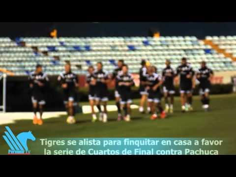 Llegan de Pachuca y a entrenar