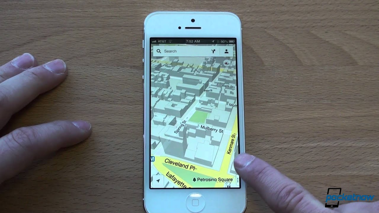 Google Maps For Iphone Tips And Tricks Youtube