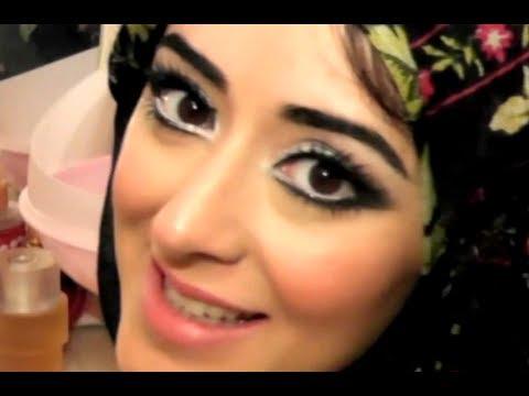 Eid Makeup Tutorial Silver & Black Smokey Eyes With Sparkle
