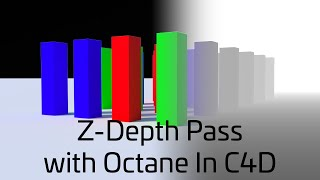 Popper Z-Depth Pass export in Octane and C4D (Quick Tip)