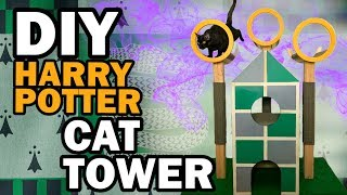 😺 DIY Harry Potter Cat Tree