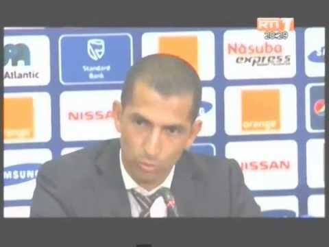 CAN 2013: Lamouchi juge la prestation de ses joueurs apres la victoire contre la Tunisie
