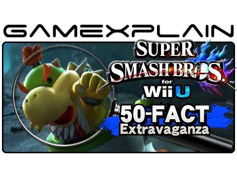 Super Smash Bros Wii U Analysis - 50-Fact Extravaganza (Secrets & Hidden Details)