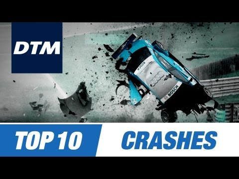 DTM Top 10 Crashes