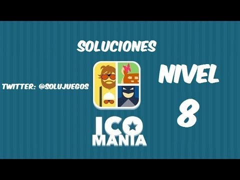 Icomania Level 8 Answers 266-309 SOLUCIONES Nivel 8