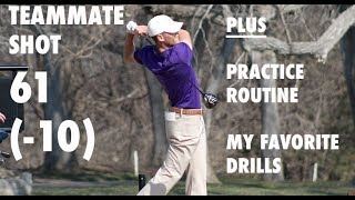 DAY IN THE LIFE OF A COLLEGE GOLFER