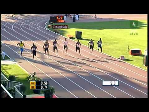 Top 10 fastest 100m runners of all time (men)