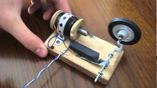 Homemade Solenoid engine + Magnets