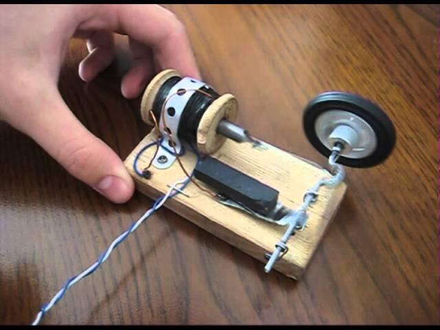 Как сделать электрический магнит 163