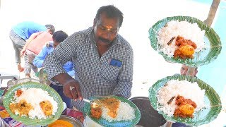 Cheapest Roadside Unlimited Meals | Indian Street food | #Streetfood