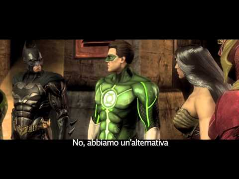 Injustice Gods Among Us: Story Trailer [ITA]