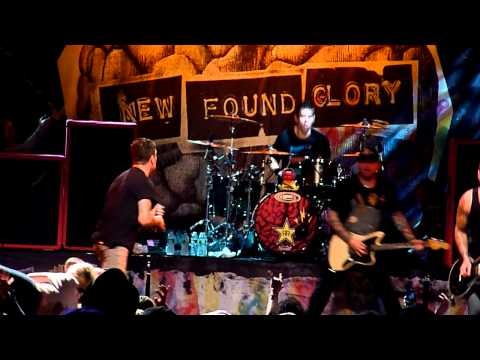 """New Found Glory """"At Least I'm Known for Something"""" 10-28-11 Best Buy Theater NYC"""
