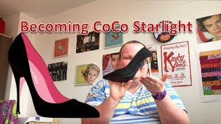 Becoming CoCo Starlight | Connor learns drag | Episode 1: Heels