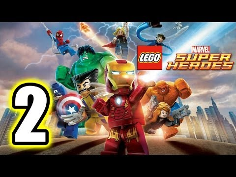 LEGO Marvel Super Heroes Walkthrough PART 2 PS3 Lets Play Gameplay TRUE HD QUALITY