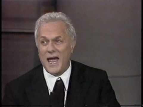 Tony Curtis on Late Night, January 15, 1986