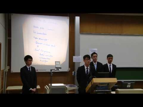 HSBC Asia Pacific Business Case Competition 2014   Round 1 C3   Lingnan University