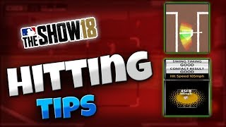 MLB The Show 18   Zone Hitting Tips