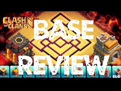 Base Review TH 10 and TH 7! Epic Defensive/Trophy Base - Clash of Clans