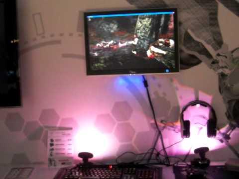 Cyborg Ambx Light Pods - Gamescom 2010