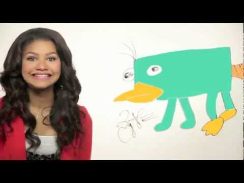 Draw Perry - Zendaya Coleman