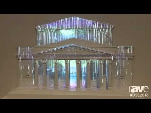 DSE 2016: Panasonic Demos Projection Mapping With Miniature Version of Real Life Bolshoi Theater
