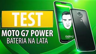 Test Motorola Moto G7 Power z baterią 5000 mAh 🔋