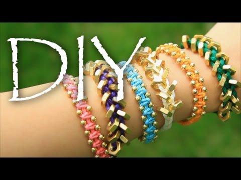 DIY Stackable ArmCandy Friendship Bracelets EASY How to Make