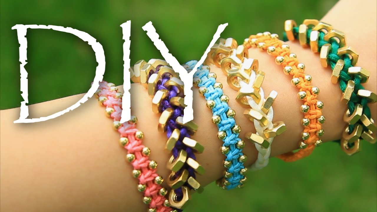 diy stackable armcandy friendship bracelets easy how to