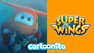 Super Wings | Waterspout Rescue | Cartoonito