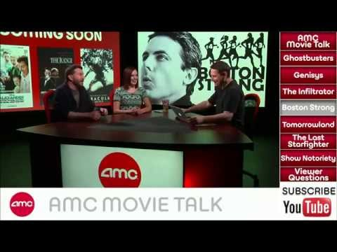 AMC Movie Talk - GHOSTBUSTER Reboot Now Official, BOSTON STRONG Lands Star